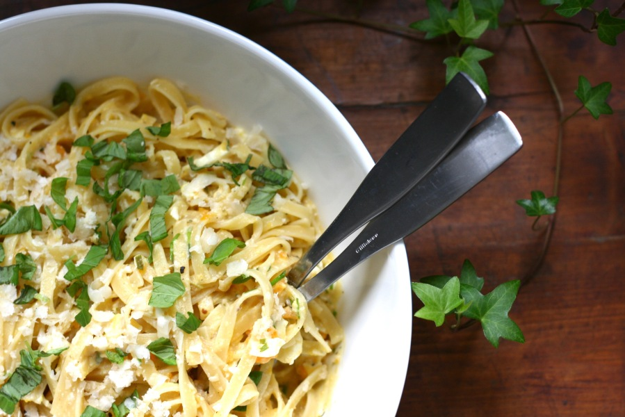 Exciting Flavours – Anchovy Lemon Pasta