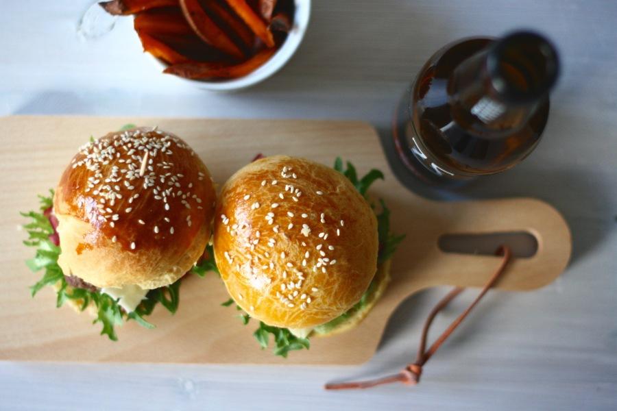 Hamburgers for Weekend? – BriocheBuns